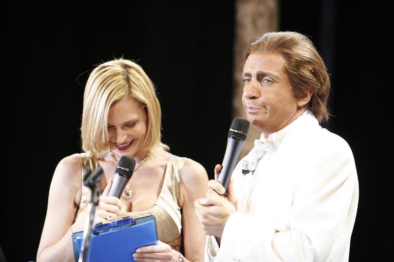 Simona Ventura + Dario ballantini 2