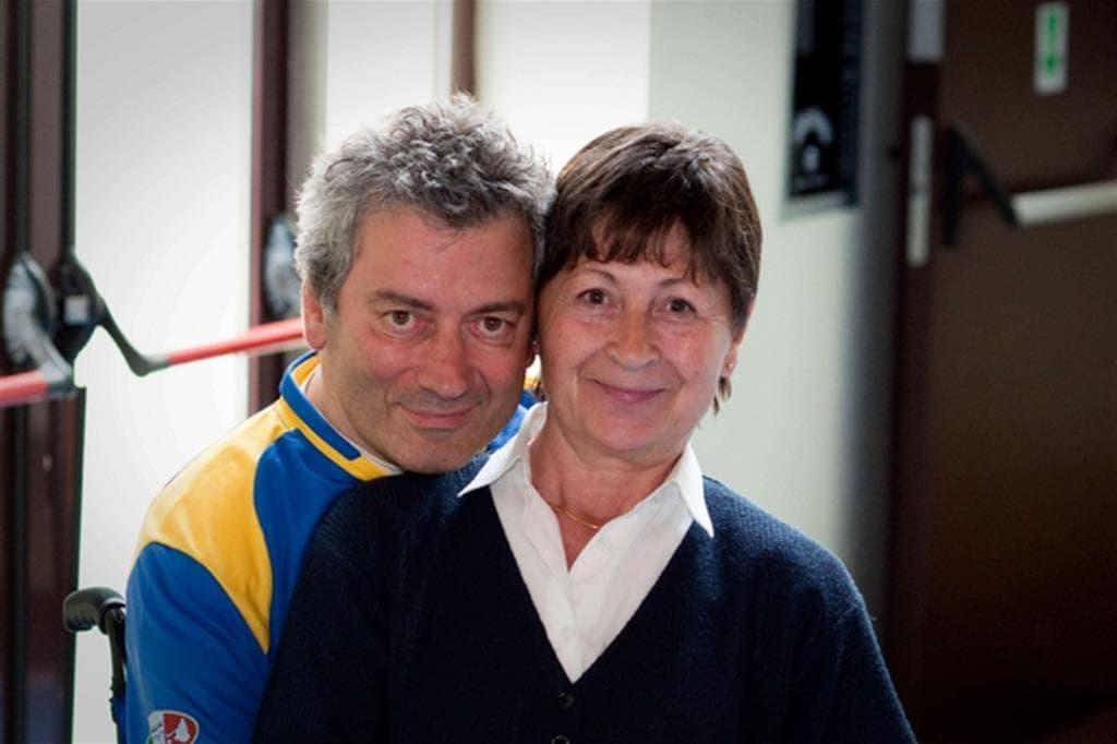 La storia di Claudio, affetto da distrofia FSHD, curato al Centro Dino Ferrari